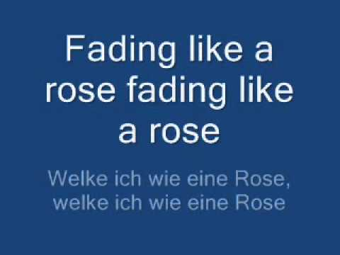 fading like a flower - roxette [lyrics + übersetzung]
