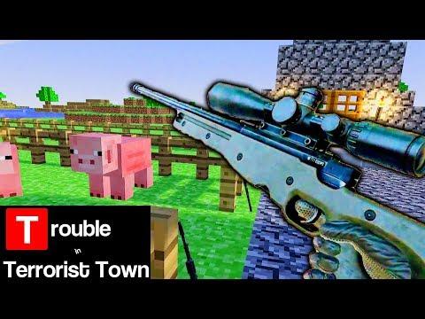 Minecraft Swat Team (VR TTT Funny Moments)