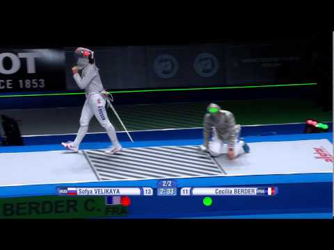 2015 World Fencing Championships Moscow - Day 1 Highlights