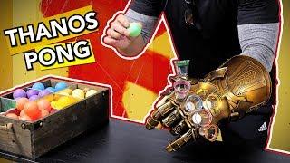 Thanos Pong | Infinity Gauntlet Challenge (Endgame/Infinity War Game)