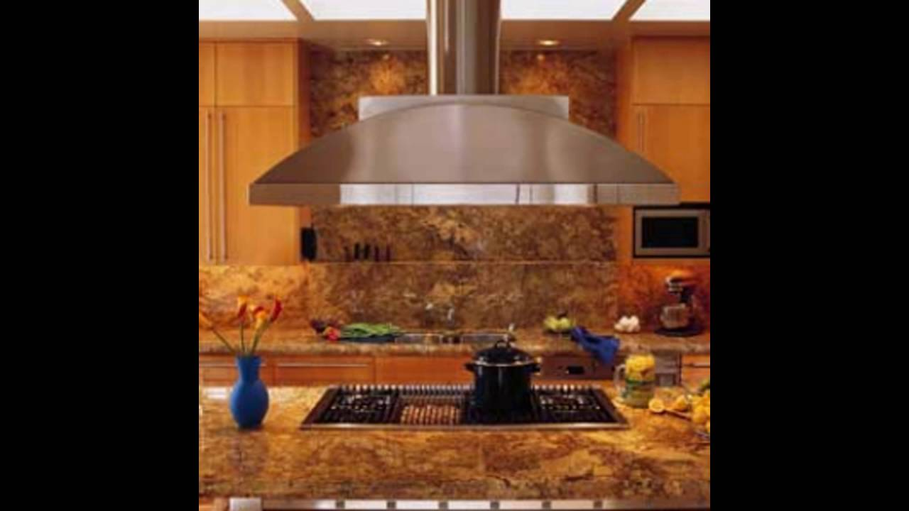 Island Kitchen Vent Hoods Youtube