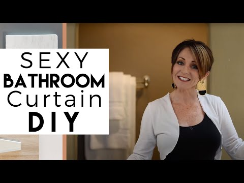 Sexy Bathtub Curtain | DIY | Interior Design Ideas