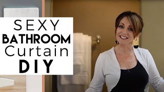 DIY | Sexy Bathtub Curtain