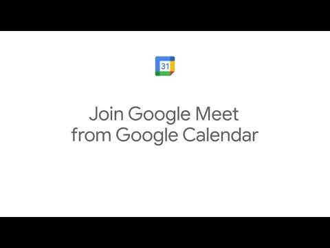 How to: Join Google Meet from Google Calendar