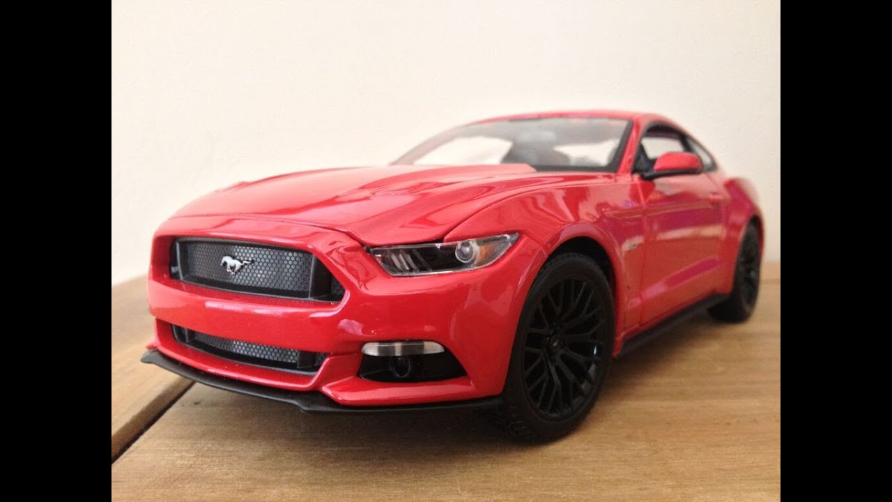review 1 18 2015 ford mustang gt by maisto the model. Black Bedroom Furniture Sets. Home Design Ideas
