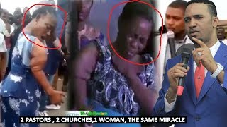 Woman Act The Same Miracle For 2 Different Churches Pastor Chris Okafor And Pastor Emeka