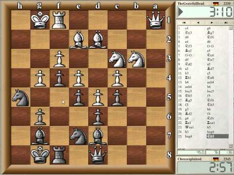 Blitz Schach #172 mit Livekommentar.avi