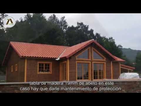 Proceso de construccion de una caba a de madera doovi - Infomader casas de madera ...