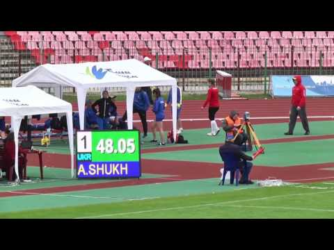 Alina Shukh won Javelin Throw at the International Athletics U20 Match – Lutsk2017