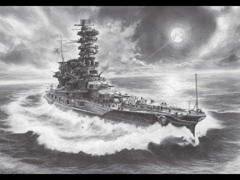 跟著《菅野泰紀:鉛筆艦船画集》一起看氣勢磅礡的船艦