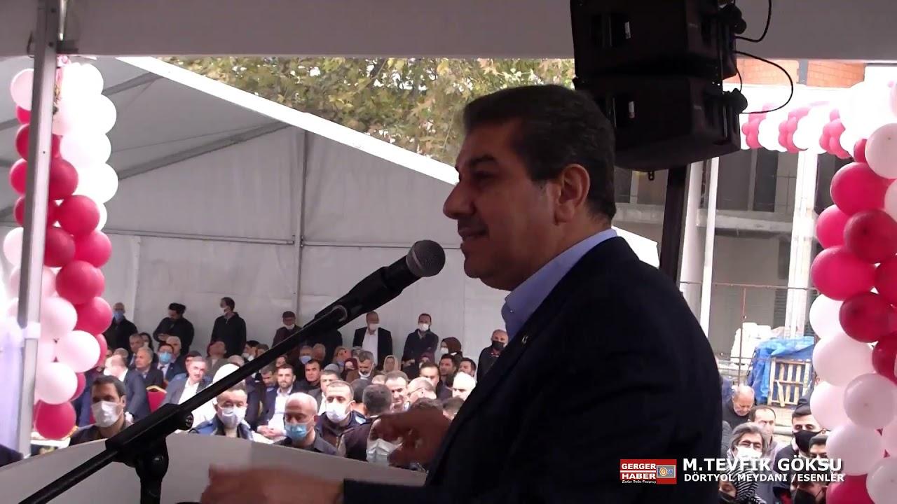 Download M.Tevfik Göksu Konuştu CHP İlçe Başkanı Meydanı Terk etti..