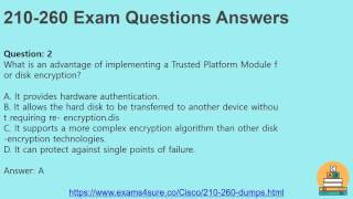 210 260 Dumps With 100% Passing Guarantee