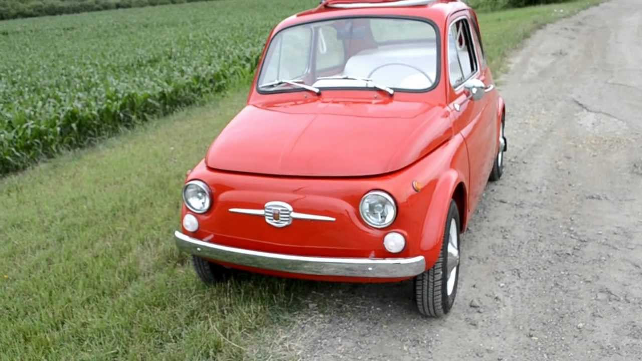 Fiat 500 F For Sale 1969