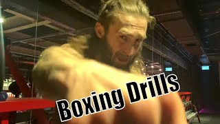 Boxing drills at 12 Rounds