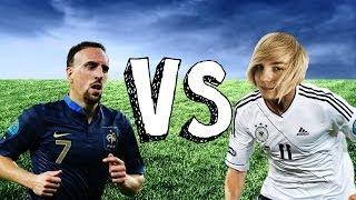 Fotbolls-VM 2014: Frankrike - Tyskland (FIFA 13)