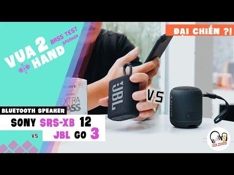 JBL GO 3 vs SONY SRS-XB12 Solo l Liệu ai đáng giá hơn l SoundTest