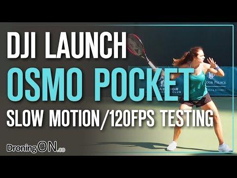 DJI Osmo Pocket Slow Motion 120 FPS Testing (+ 120fps Vs 60fps)