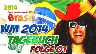 WM 2014 - WM Tagebuch  VLOG #01 - HEUTE GEHTS LOS ! - FIFA 14 Ultimate Team