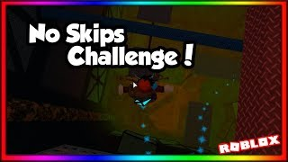 [Difficult CHALLENGE!!] No Skip or Glitch Challenge! | ROBLOX Flood Escape 2
