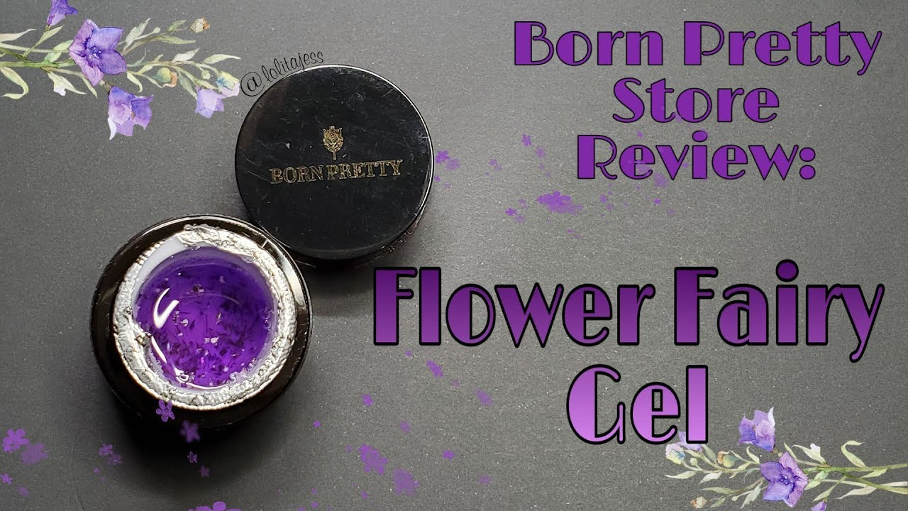 Born Pretty Flower Fairy Gel Review Lolitajess Youtube