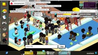 Habbo - World AIDS Day 2012 Raid highlights
