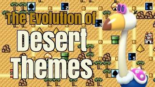 Every Super Mario Bros Desert Theme | Evolution of Mario Music