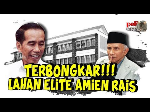 Terungkap Lahan Elite Amien Rais Jadi Sekolah Internasional Mahal di Yogyakarta