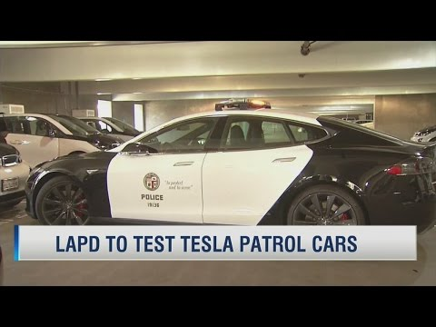 LAPD to test Tesla patrol cars