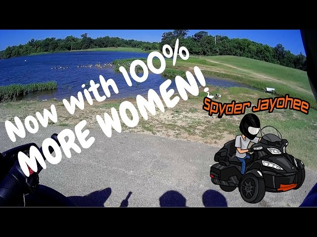 First Dual Vlog - Kelly is REAL!!! - Spyder Motovlog #10