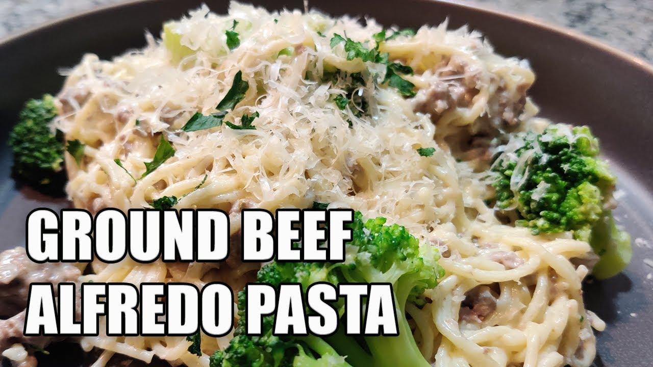 Ground Beef Alfredo Sauce Recipes