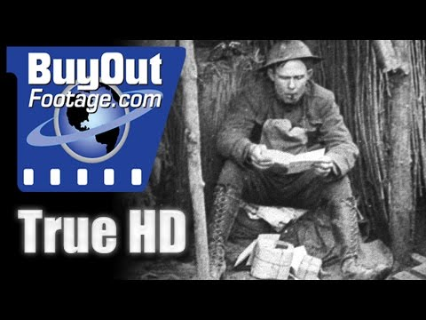 WWI - The Meuse-Argonne Offensive, 1918 Historic HD Footage