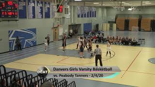 DHS Girls Varsity Basketball vs Peabody - 2/4/20