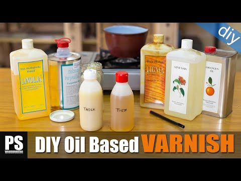 How to make an Oil-Based Varnish