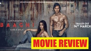 Baaghi - Movie Review | Tiger Shroff | Shraddha Kapoor | Sudheer Babu