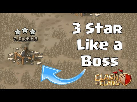 3 Star Any TH5 Like A Boss (Town Hall 5) Clash Of Clans - TH5 Best War Attack Strategy - COC