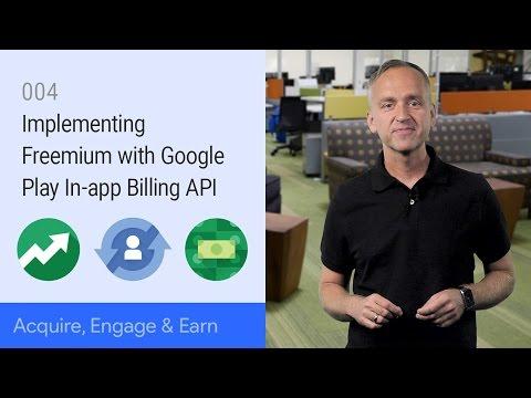 Implementing Freemium with Google play In-app Billing API