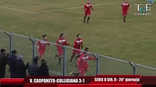 Serie D Girone D Vigor Carpaneto-Colligiana 3-1