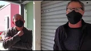 Protestano i commercianti ittici di via Montecarlo