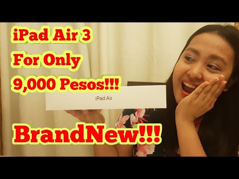 IPad Air 3 For Only 9000 PESOS!+UNBOXING PHILIPPINES