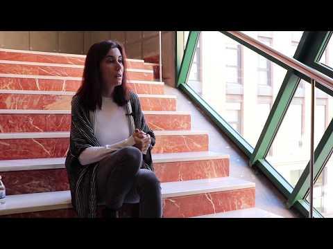 María Caamaño - Profesora del Grado de Filosofía en la UVa