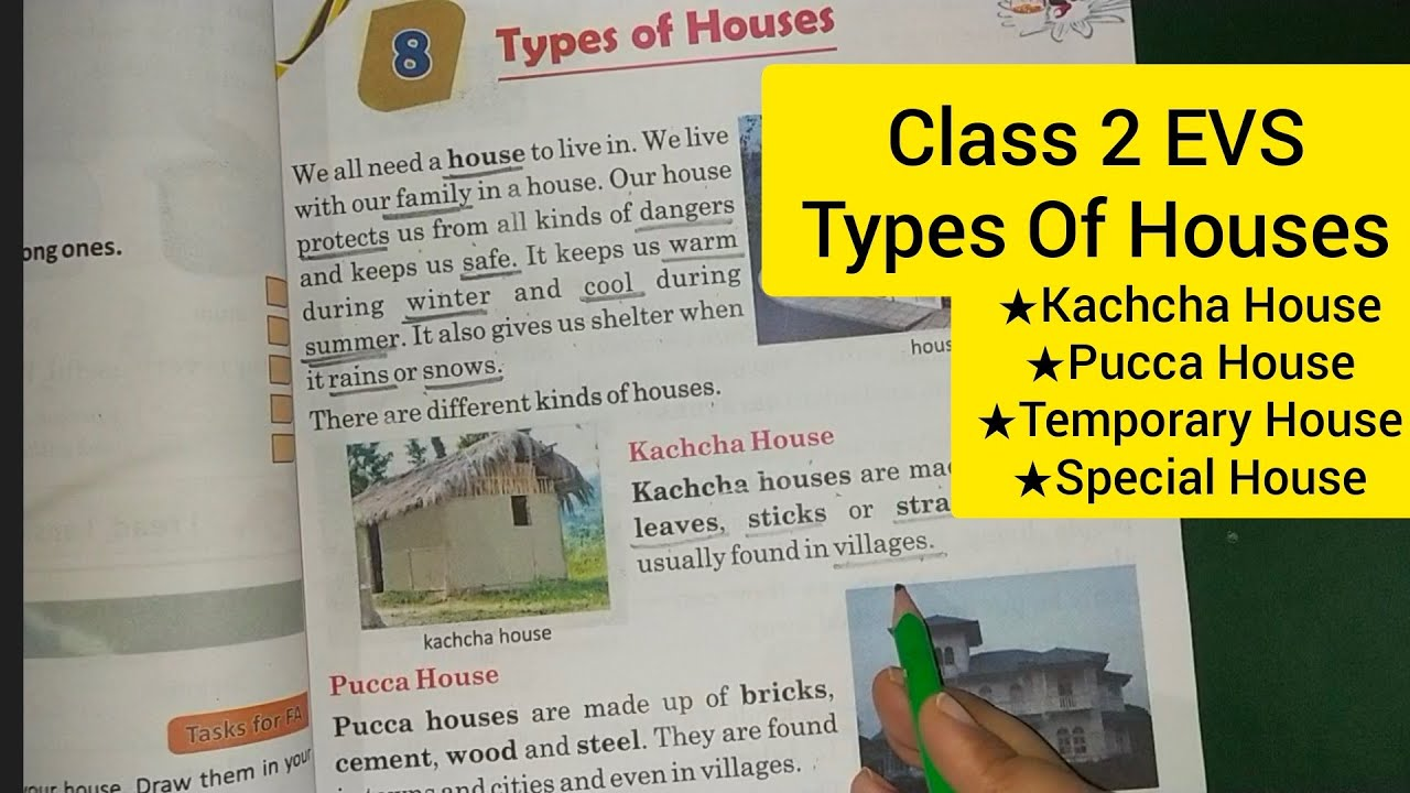 Class 2 EVS Types of houses // Houses We Live In - YouTube [ 720 x 1280 Pixel ]