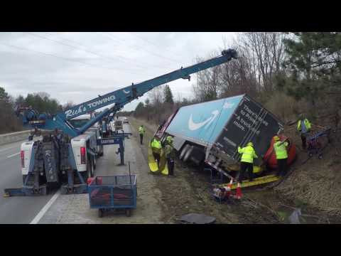 Ohio Turnpike Commercial Vehicle Removal