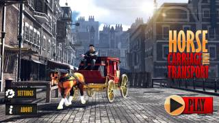 Horse Carriage Town Transport Android GamePlay FHD