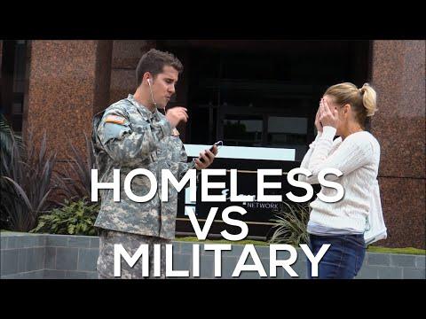 Homeless vs Military Experiment