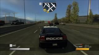 Полицейская машина патрулирует догоги США  Мультик про полицейские машинки для д