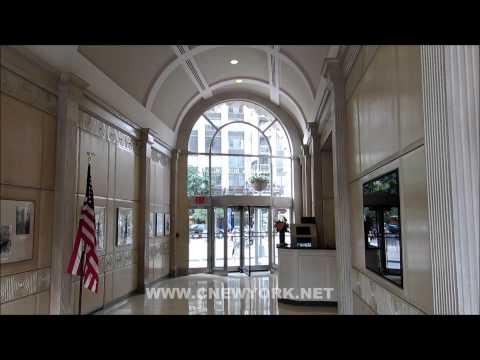 Le hall d'entrée du Flatiron building