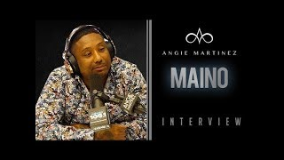 Maino and Angie talks #JusticeForJunior Tribute Song + Takes Callers