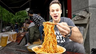 Chinese Street Food DAN DAN NOODLE Tour in Sichuan, China | INSANELY G