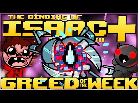 The Binding of Isaac: Afterbirth+ - Greedier of the Week: DEATH'S SHOCKING POWER!