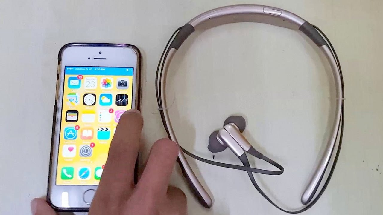 How To Connect Samsung Level U Wireless Headphones To Iphone Youtube